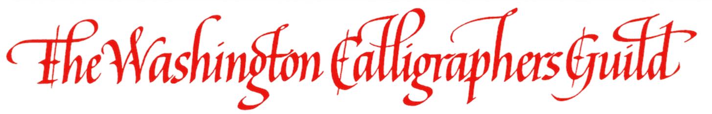 The Washington Calligraphers Guild